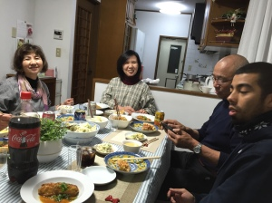 We even had dinner with their friends!  They're amazing cooks as well and we had a great time using Japanese all night and being in a total Japanese setting.  So much of what we do is bilingual, so this was a really great opportunity for us.